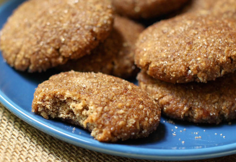 Vegan Chewy Snickerdoodle Recipe | Gluten-Free & Oil-Free