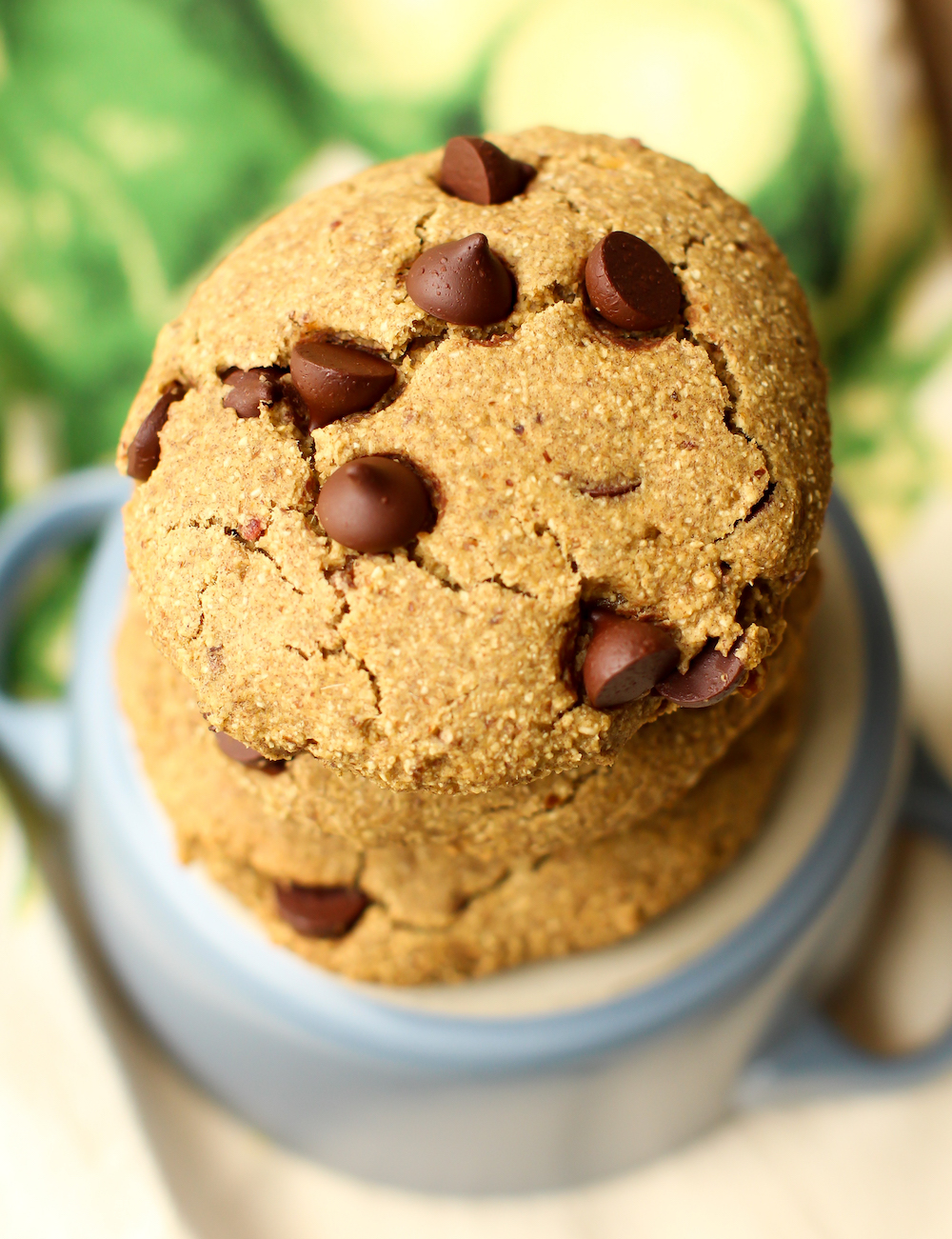 Oat Flour Chocolate Chip Cookies Vegan Gluten Free Oil